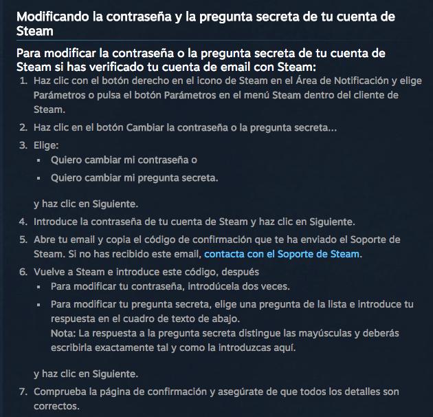 Imagen - Cambia la contraseña de Steam: ha sido hackeado
