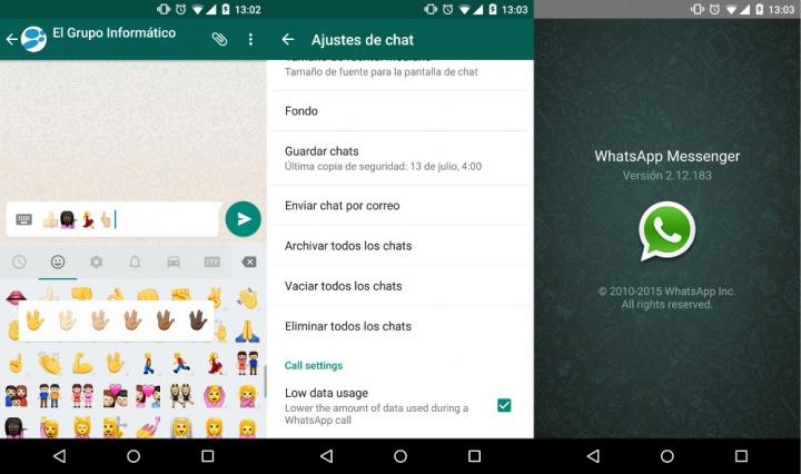 Imagen - Descarga WhatsApp 2.12.183 y reduce el consumo de las llamadas