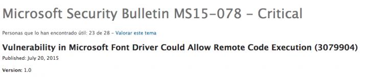 Imagen - Microsoft publica una actualización crítica de emergencia para todos los Windows