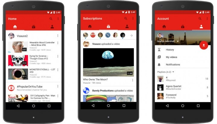 Imagen - Descarga el rediseñado YouTube para Android