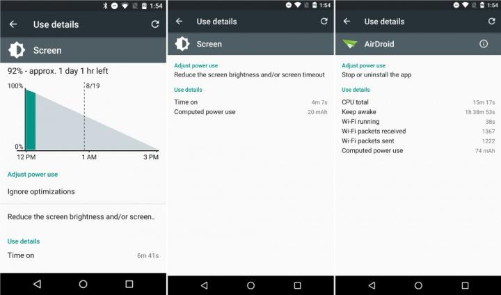Imagen - Android 6.0 Marshmallow nos dirá el consumo exacto de batería de cada app