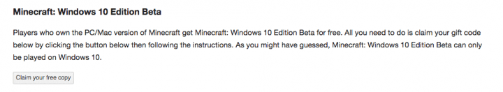 Imagen - Descarga Minecraft para Windows 10 gratis
