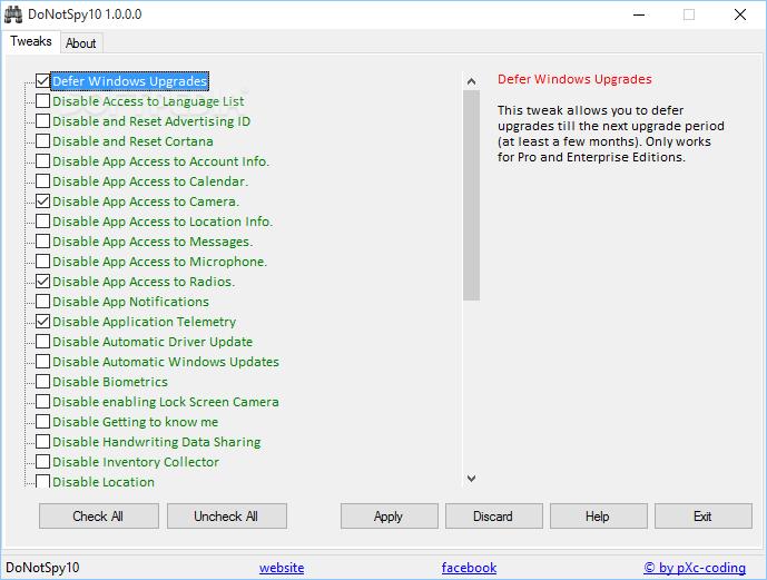 Imagen - Descarga DoNotSpy10 para Windows 10