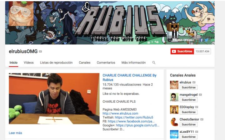 Imagen - ElRubius supera los 13 millones de suscriptores en YouTube
