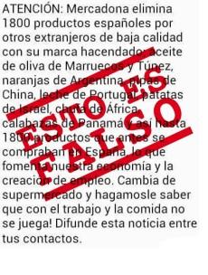 Imagen - Mercadona desmiente los bulos que circulan en redes sociales