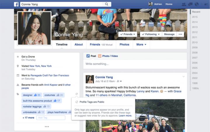 Imagen - Facebook añadirá tags de personalidad en los perfiles
