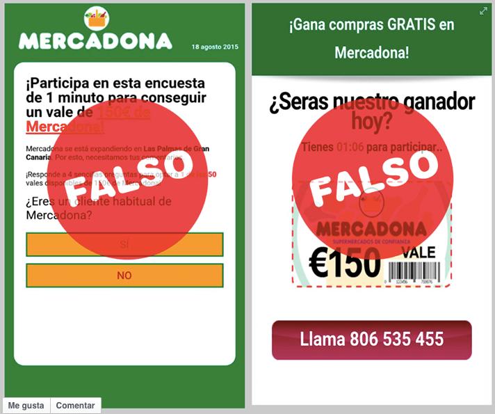 Imagen - Otro fraude de vales de Mercadona circula por WhatsApp