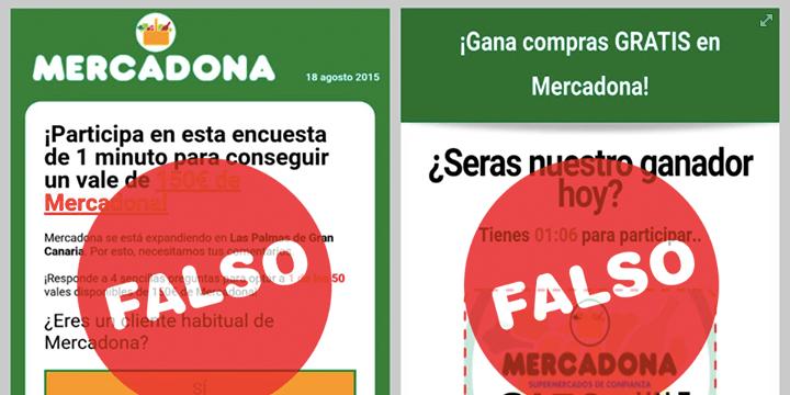 Otro fraude de vales de Mercadona circula por WhatsApp