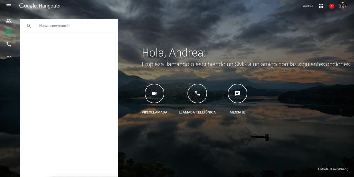 Imagen - Descubre la nueva versión web de Hangouts