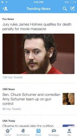 Imagen - Twitter añadirá una pestaña de Noticias