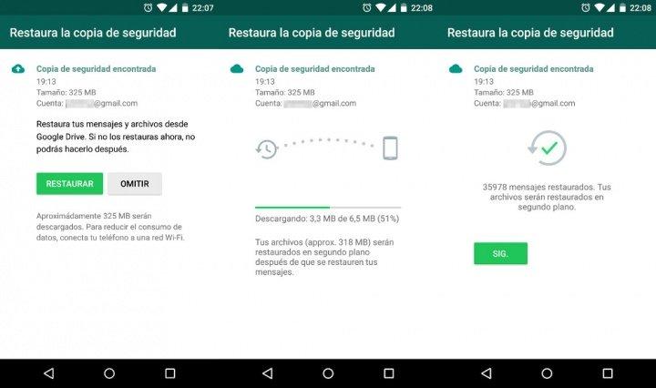 Como recuperar un copia de seguridad del wusap en iphone