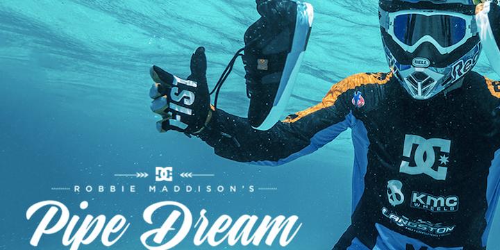 Robbie Maddison, el motorista que surfea con su moto se hace viral