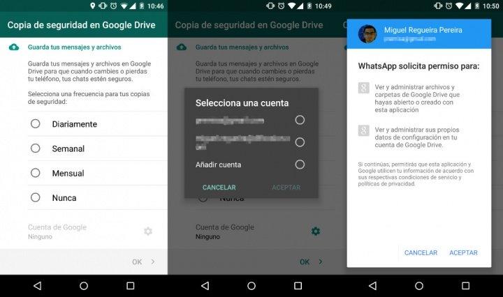 Imagen - Ya es posible hacer copia de seguridad de WhatsApp en Google Drive