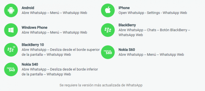 Imagen - WhatsApp Web ya está disponible para iPhone