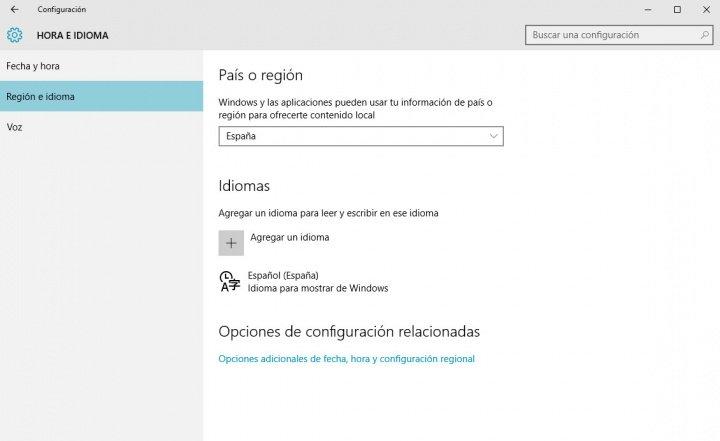 Imagen - Cómo configurar Windows 10 en gallego, catalán o euskera