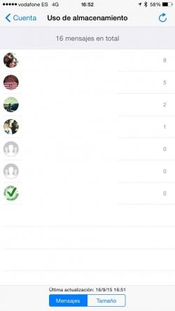 Imagen - WhatsApp ya permite saber con quién hablas más