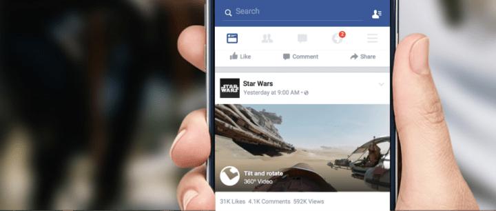 Imagen - Facebook ya soporta vídeos de 360 grados