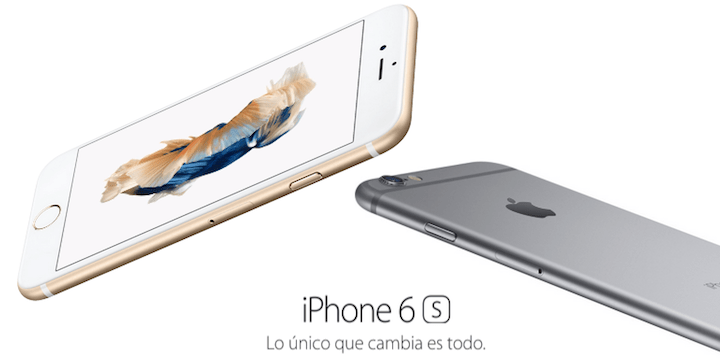 iPhone 6s: precios con Vodafone