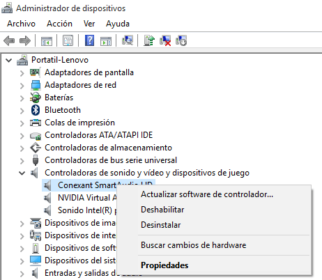 Imagen - Cómo recuperar el audio en Windows 10