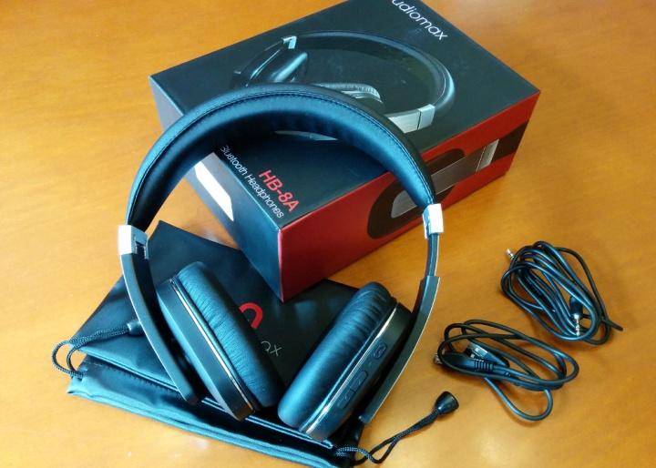 Imagen - Review: AUDIOMAX HB-8A, unos auriculares Bluetooth de lujo a un precio ajustado