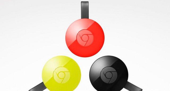 Google presenta el Chromecast 2 y el Chromecast Audio