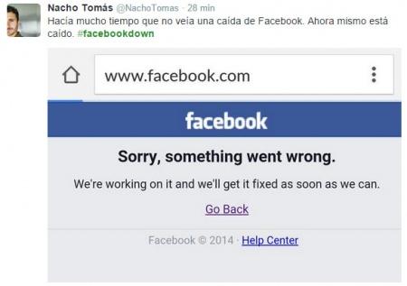 Imagen - Facebook está caído para gran parte de sus usuarios a nivel mundial