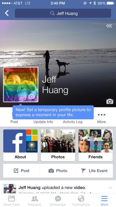 Imagen - La foto de perfil de Facebook podrá caducar