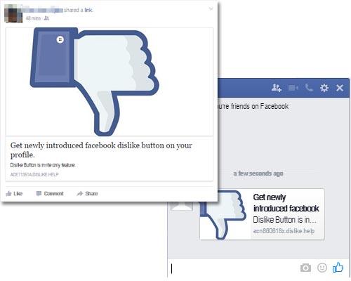 """Imagen - Rellena un formulario para conseguir el """"No me gusta"""" de Facebook ¡no!"""