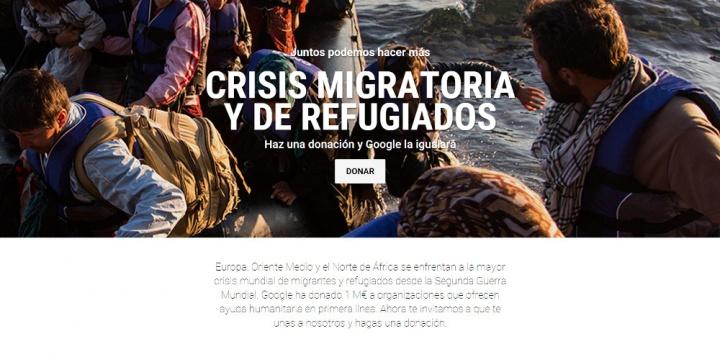 Imagen - Dona a los refugiados sirios y Google también lo hará