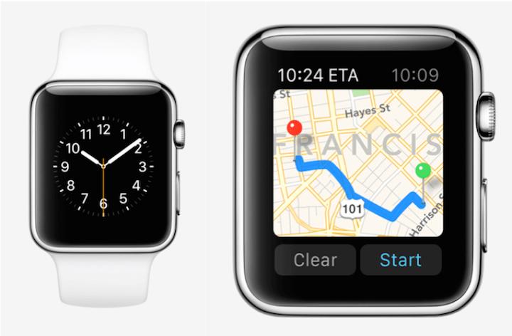 Google Maps ya es compatible con Apple Watch