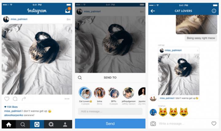 Imagen - Instagram se convierte en el nuevo WhatsApp con los mensajes privados