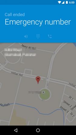Imagen - Android M mostrará nuestra localización al realizar una llamada de emergencia