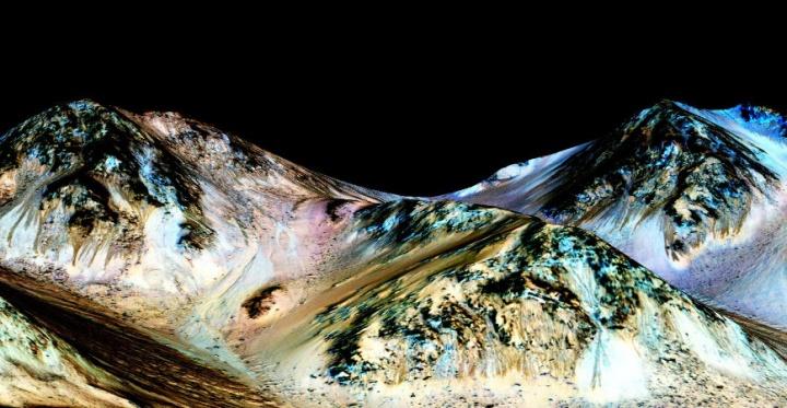 Imagen - Google celebra el descubrimiento de agua en Marte con un Doodle