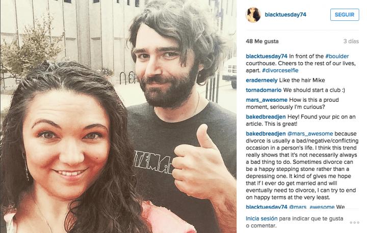 Imagen - Celebran con un selfie su divorcio y se hace viral