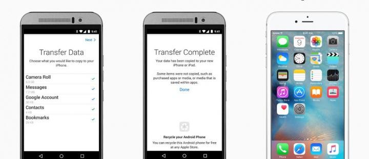 Imagen - La aplicación para migrar de Android a iOS, blanco de las mofas en Google Play
