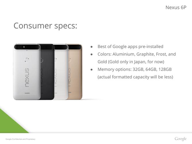 Imagen - Nexus 5X y Nexus 6P disponibles a partir de mañana: conoce sus precios