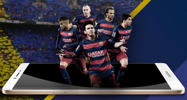 Imagen - Oppo R7 Plus Edición FC Barcelona, la nueva edición limitada del smartphone