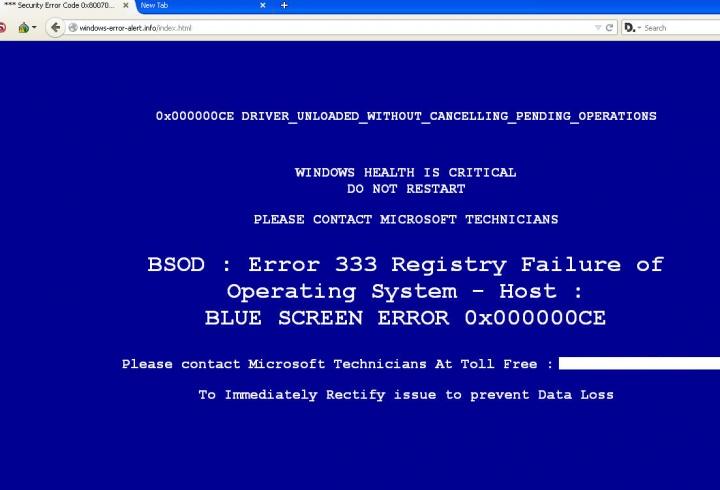 Imagen - Falsos pantallazos azules en Windows, un nuevo intento de estafa