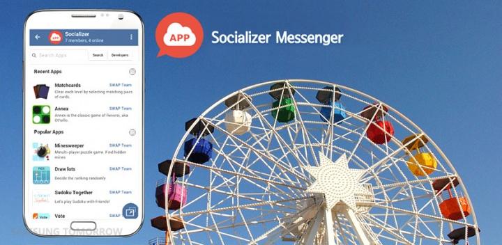 Socializer Messenger, el nuevo WhatsApp de Samsung