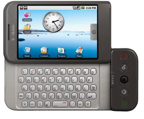 Imagen - Conoce el primer Android de hace ya 7 años
