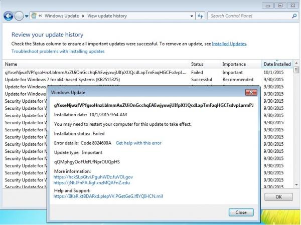 Imagen - Microsoft publica una curiosa actualización errónea