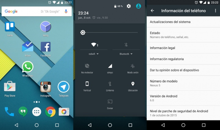Imagen - Android 6.0 Marshmallow comienza a llegar a España