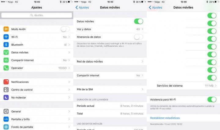Imagen - Cómo desactivar la Asistencia para Wi-Fi en iOS 9
