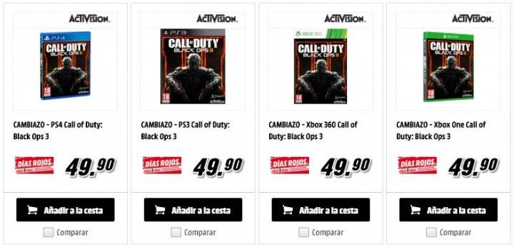 Imagen - Consigue Call of Duty: Black Ops III por sólo 50 euros el día del lanzamiento