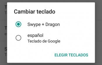 Imagen - Cómo cambiar el teclado por defecto en Android