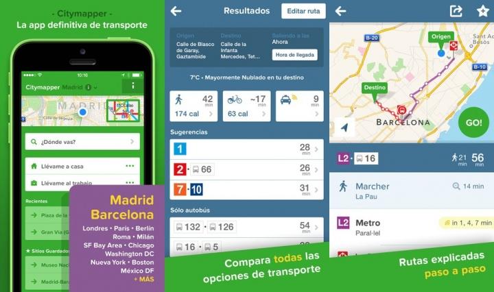 Imagen - Citymapper, la app imprescindible para el transporte urbano