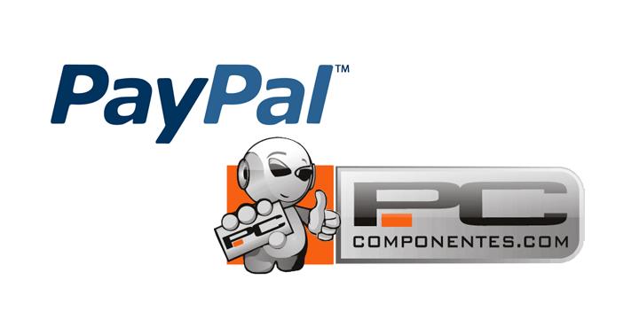 Consigue un 25% de descuento en PcComponentes con PayPal