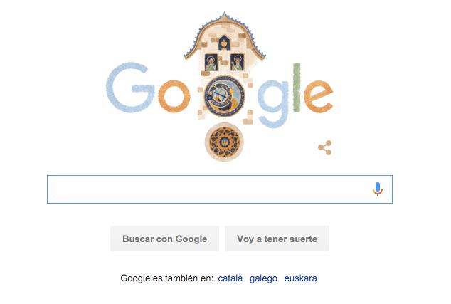 Imagen - Google celebra los 605 años del reloj astronómico de Praga con un Doodle