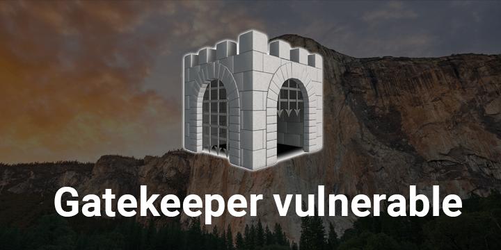 Gatekeeper es vulnerable en Mac OS X
