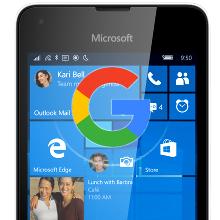 Imagen - Google podría lanzar sus apps para Windows 10 Mobile